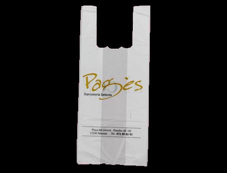 bolsas para tiendas camiseta
